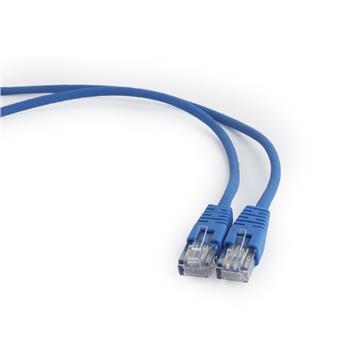 GEMBIRD Eth Patch kabel cat5e UTP, 1m, modrý
