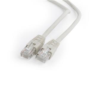 GEMBIRD Eth Patch kabel cat6 UTP, 0,5m, šedý