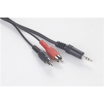 Kabel přípojný jack-2xcinch 1,5m audio