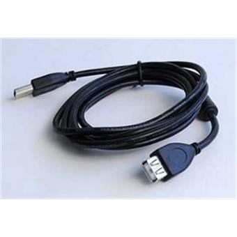 Kabel USB A-A 3m 2.0 prodl. HQ s ferrit. jádrem
