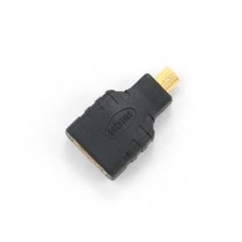 Kabel red. HDMI na HDMI micro, zlacené k., černá