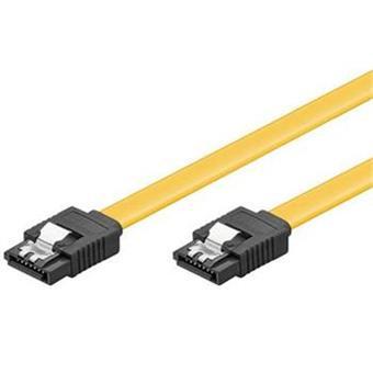 PremiumCord 0,5m SATA 3.0 datový kabel 1.5GBs / 3GBs / 6GBs, kov.západka