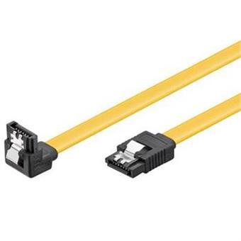 PremiumCord SATA 3.0 datový kabel, 6GBs, 90°, 0,5m