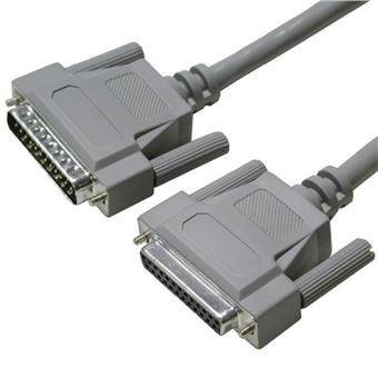 PremiumCord Datový kabel 25M-25F 5m 25ž.