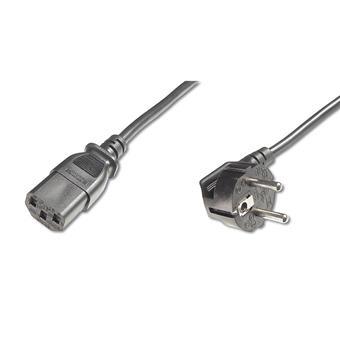 PremiumCord Kabel síťový 230V k počítači 0.5m