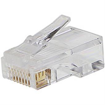PremiumCord Konektor RJ45 8pinů - na drát, balení 10ks