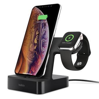 BELKIN Charge dock for iPhone & Apple Watch, černý