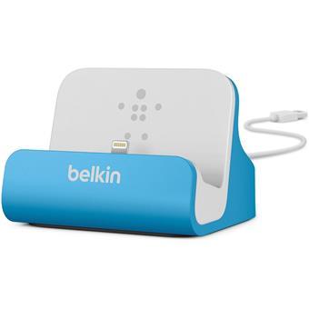BELKIN Stolní dokovací stanice pro iPhone, modrá