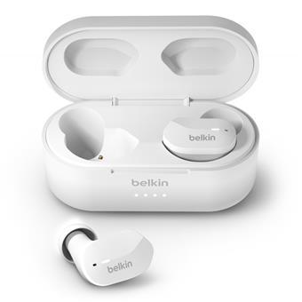BELKIN SOUNDFORM™ True Wireless Earbuds, bílé