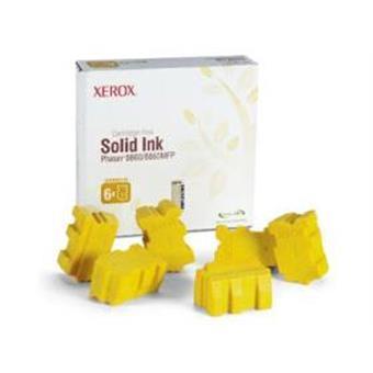 Xerox Genuine Solid Ink pro Phaser 8860 Yellow (6 STICKS)