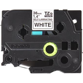 Brother TZE-SL261, bílá/černá, 36mm, samolaminovací