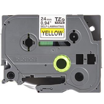 Brother TZE-SL651, žlutá/černá, 24mm, samolaminovací