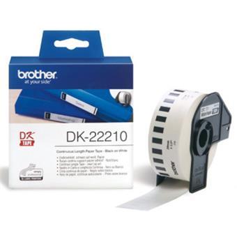 DK-22210 (papírová role 29mm)