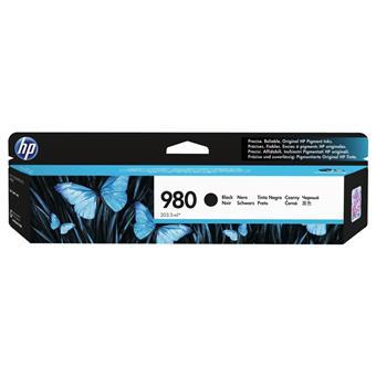 HP 980 černá inkoustová kazeta, D8J10A