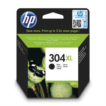 HP 304XL Black Original Ink Cartridge, N9K08AE