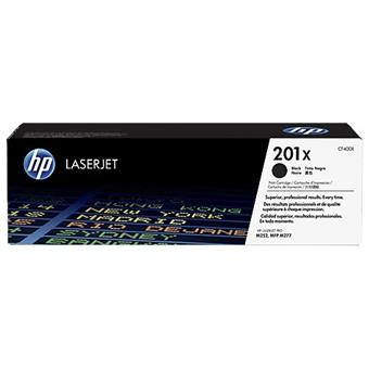 HP 201X tisková kazeta černá velká, CF400X