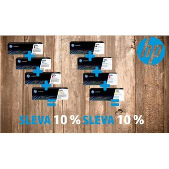 HP 410X bundle - CF252XM + CF410X