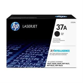 HP 37A černá LaserJet Cartridge, CF237A