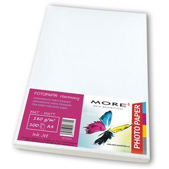 Fotopapír 100 list,170g/m2,matt,1str,Ink Jet
