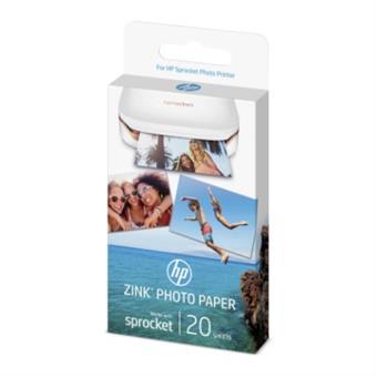 Samolepící fotopapír HP ZINK Sprocket, 20 sheets