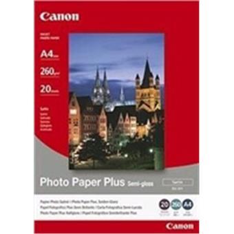 Canon SG-201, A4 fotopapír saténový, 20ks, 260g/m