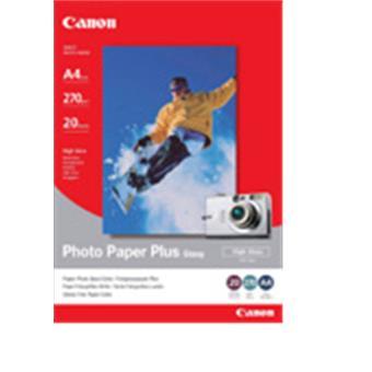 Canon PP-201, 13x18cm fotopapír lesklý, 20ks, 275g