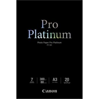 Canon PT-101, A3 fotopapír lesklý, 20ks, 300g/m