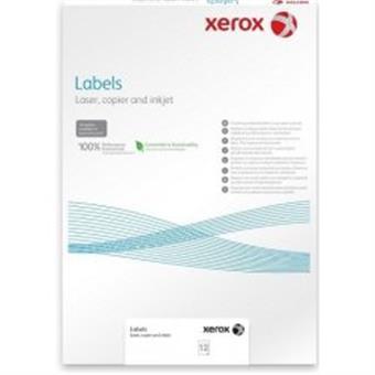 XEROX samolepici štítky A3