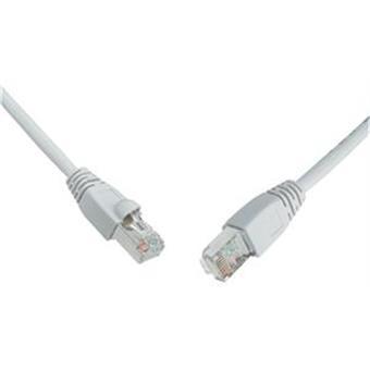 SOLARIX patch kabel CAT6 SFTP PVC 1m šedý