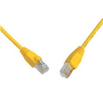 SOLARIX patch kabel CAT6 SFTP PVC 10m žlutý