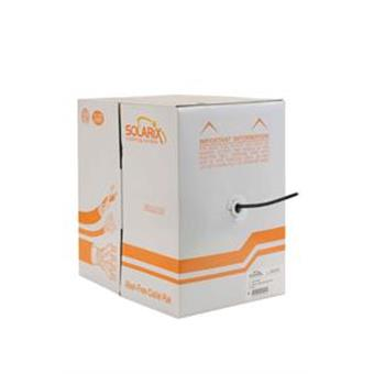 Venkovní inst. kabel Solarix CAT5e FTP PE 305m/box