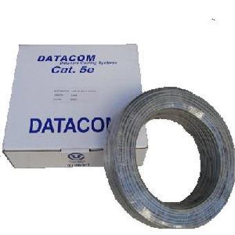 DATACOM UTP drát cat5e bal.100m šedý