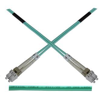Optický patch kabel duplex LC-LC 50/125 MM 50m OM4