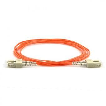 Optický patch cord duplex  SC-SC 50/125 3m MM OM4