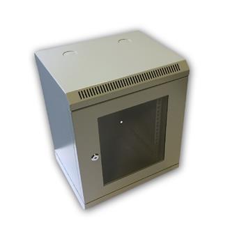 """10"""" rack jednodílný 9U/280 DATACOM šedý Skl.dv."""