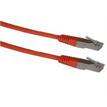 Patch cord FTP cat5e 0,5M oranžový
