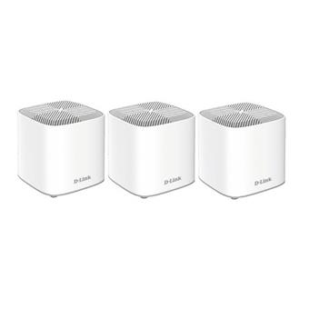D-Link COVR-X1863 - AX1800 Dual-Band Whole Home Mesh Wi-Fi 6 System (3-Pack)