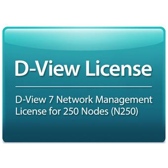 D-Link D-View 7 License for 250 Nodes