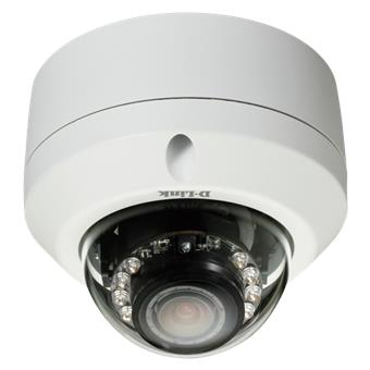 D-Link DCS-6315 HD OD Fixed Dome Cam, Nigth vision