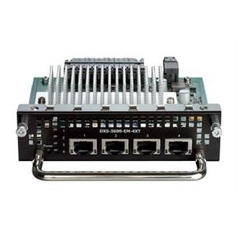 D-Link DXS-3600-EM-4XT 4 x 10GBASE-T module