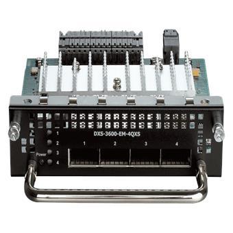 D-Link 4 x 40Gbps QSFP+ Expansion Module for DXS-3600-32S
