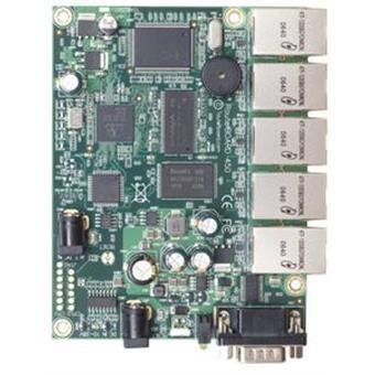 Mikrotik RB450 300 MHz, 32MB RAM, Router OS L5