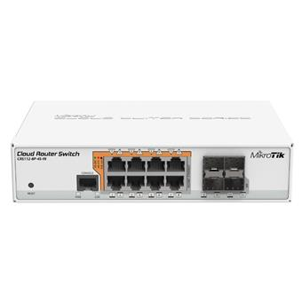 MikroTik CRS112-8P-4S-IN  Cloud Router Switch