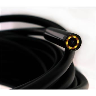 USB endoskopická kamera tvrdý kabel 5m a zrcátkem i pro mobil