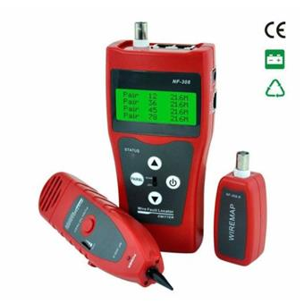 Tester síťových a telefonních kabelů typ 308, vyhledávač kabelů