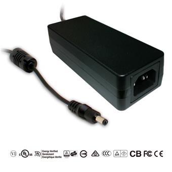 MEANWELL GST40A12-P1J, stolní adaptér 40W 12V
