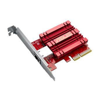 Asus XG-C100C - Síťový adap. 10GBase-T PCIe se zpět kompat. 5/2,5/1G a 100Mb/s; RJ45 a integr.QoS