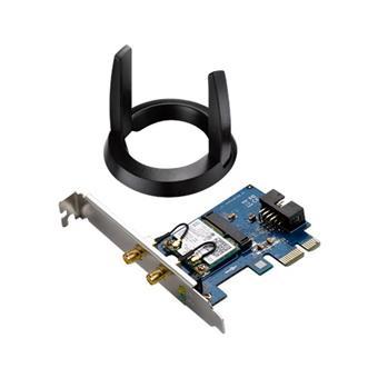 ASUS PCE-AC55BT - Dualband WLAN PCI-E 802.11ac 300M, bluethoot 4.0