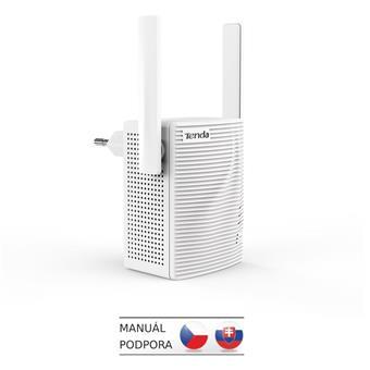 Tenda A15 - WiFi Range Extender AC750 Dual Band, opakovač 750 Mb/s, 1x LAN 100Mb/s, WPS, 2x 2dBi ant