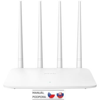 Tenda F6 WiFi N Router 802.11 b/g/n, 300 Mbps, Universal Repeater / WISP / AP, 4x 5 dBi antény